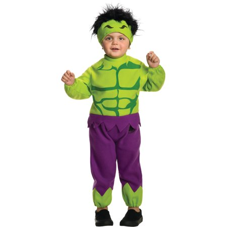 Toddlers Marvel Comics Avengers Fleece The Hulk Costume Size - She Hulk Costume