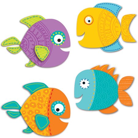 FISH CUT OUTS - Spider Cut Outs