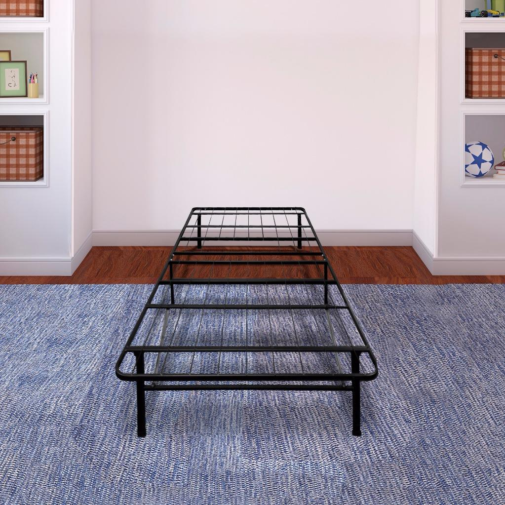 Best Price Mattress�� New Innovated Box Spring Platform Metal Bed Frame/Foundation - Multiple Sizes