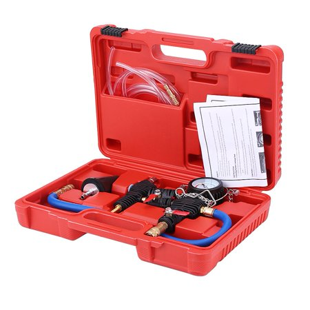 Carrying System (HERCHR Cooling System Kit, Refill Kit,Cooling System Vacuum Purge and Coolant Refill Kit with Carrying Case for Car SUV Van Cooler )