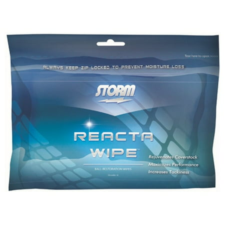 Storm Reacta Wipe Bowling Ball Cleaner Wipes (Bowling Supplies)