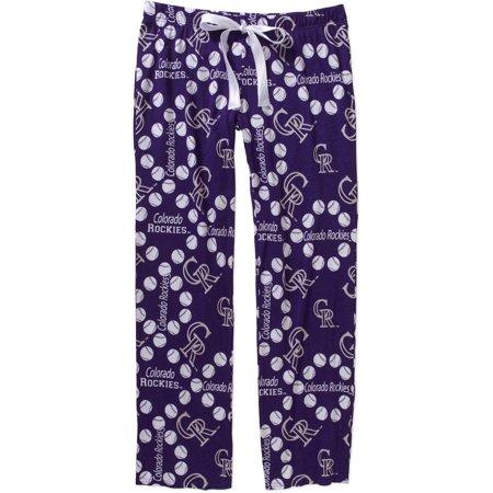 MLB Women's Colorado Rockies Knit Sleep (Best Rocky Climbing Pants)