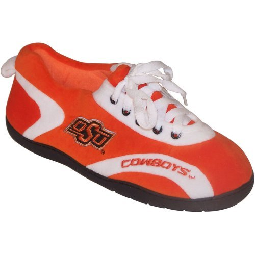 Comfy Feet NCAA All Around Youth Slippers - Oklahoma State Cowboys