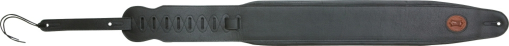 """4-1 2"""" Padded Leather Bass Guitar Strap by Levy's"""