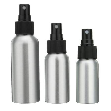 85c076d132 30/50/100ml Aluminum Mist Spray Bottle Pump Dispenser Perfume Atomizer  Atomiser - image ...