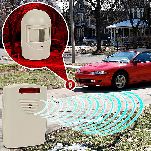 Trademark Driveway Patrol Infrared Wireless Home Security Alarm System