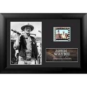 Trend Setters John Wayne Mini FilmCell Presentation Framed Memorabilia