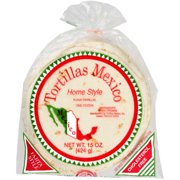 Tortillas Mexico: Flour Homestyle Tortillas, 12 ct, 15 oz