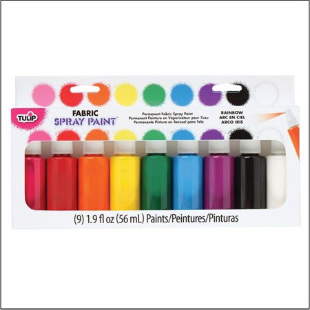 Tulip Fabric Spray Paint Party Pack 1.9 Ounces 9/Pkg