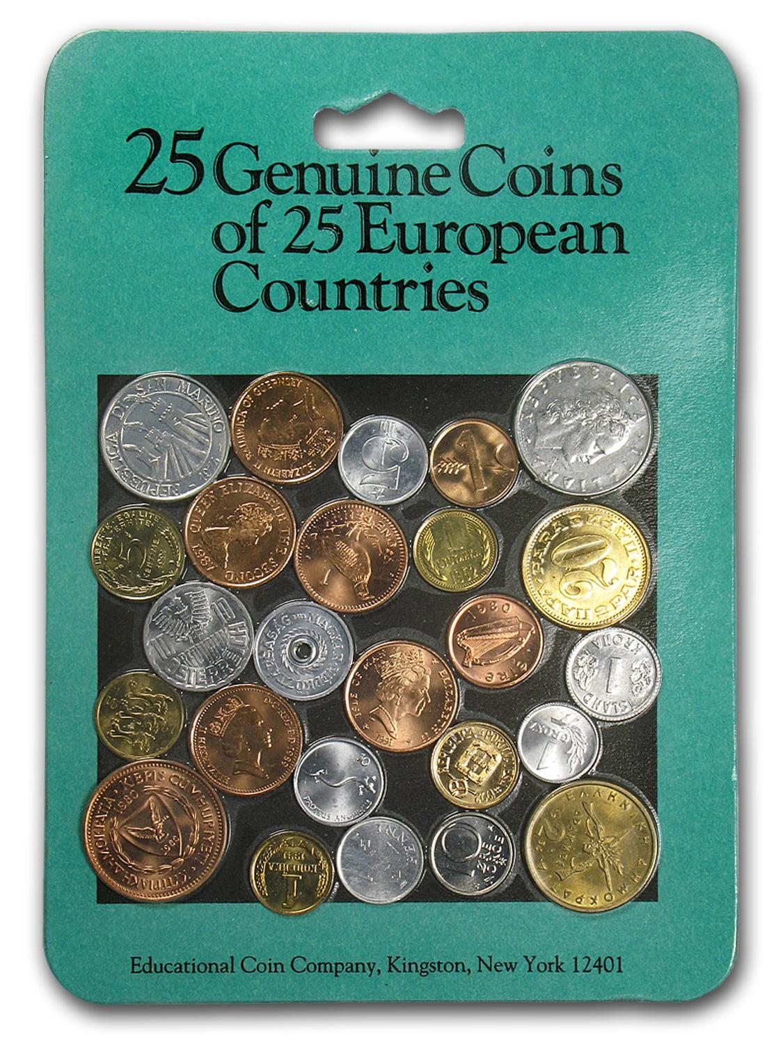 World Set 25-Coins of European Countries
