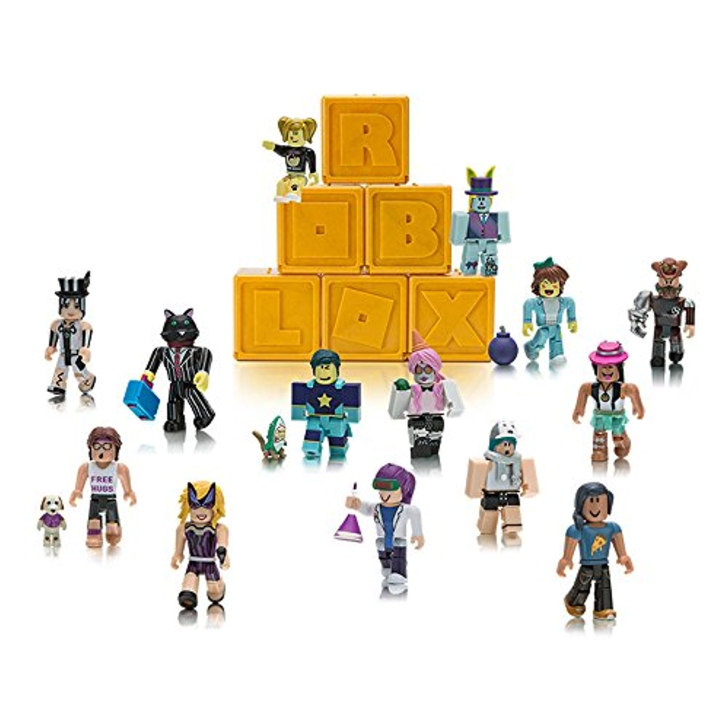 Roblox Series 1 Gold Celebrity Edition Mystery Blind Figure Sealed Pack Lot of 6