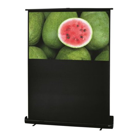 - RoadWarrior High Contrast Grey Portable Projection Screen Viewing Area: 55
