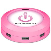 ChargeHub X7 7-Port USB SuperCharger, Round, Multiple Colors Available