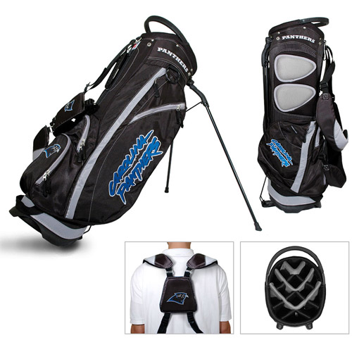Team Golf NFL Carolina Panthers Fairway Golf Stand Bag