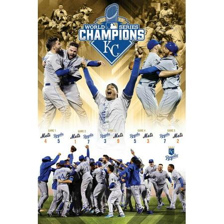 2015 World Series - Celebration Poster - 22x34