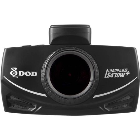 DOD Tech LS470W+ 1080p HD Dash Camera with Sony Exmor CMOS Sensor, 10x GPS Processor and Polarizing Filter