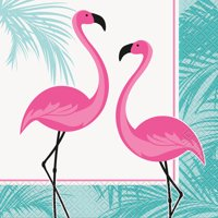 Pink Flamingo Party Lunch Napkins (16 Count)