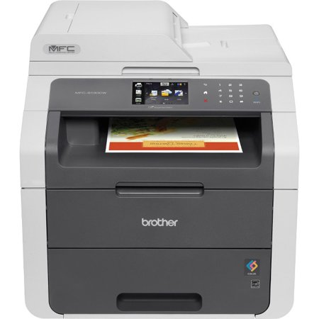 Brother MFC-9130CW Digital Color All-in-One with Wireless Networking Printer/Copier/Scanner/Fax Machine (Digital Copier Color Scanner Fax)