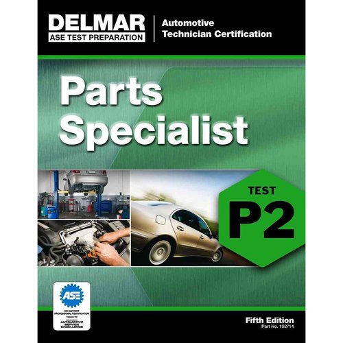 Automotive Technician Certification, Parts Specialist, Test P2