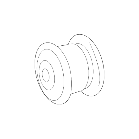 Mercedes Benz Bushings (Genuine OE Mercedes-Benz Lower Control Arm Outer Bushing 166-333-02-00 )