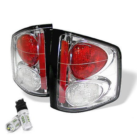 VIPMOTOZ Altezza Euro Style Tail Light Lamp For 1994-2004 Chevy S10 Pickup Truck & GMC Sonoma