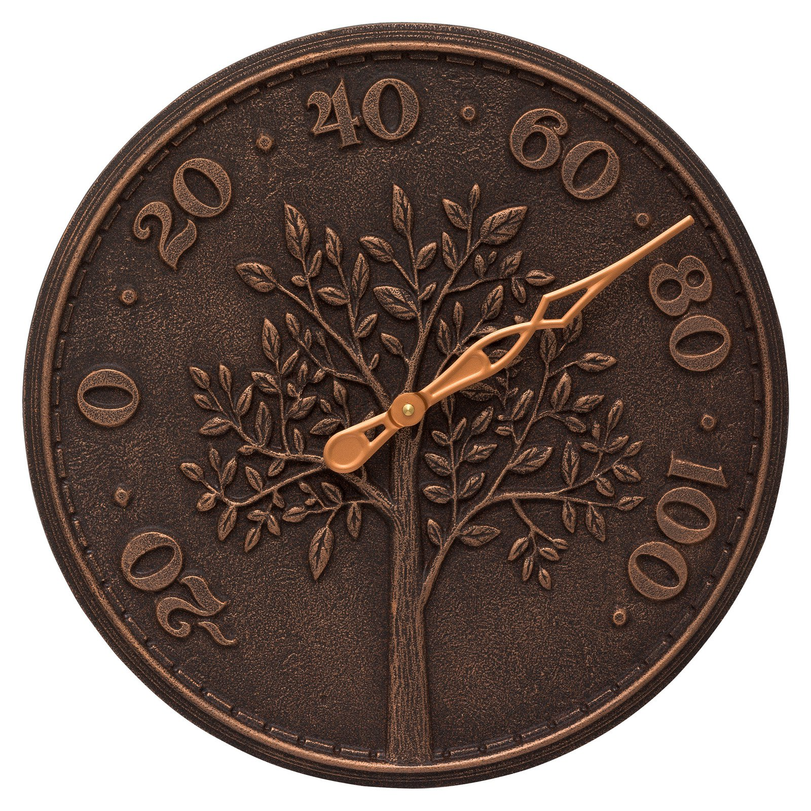 Whitehall Products Tree of Life 16-in. Indoor/Outdoor Wall Thermometer