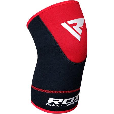 RDX Neoprene Knee Sleeve Support Brace Guard, Red, Large/X-Large (Sold as SINGLE ITEM)
