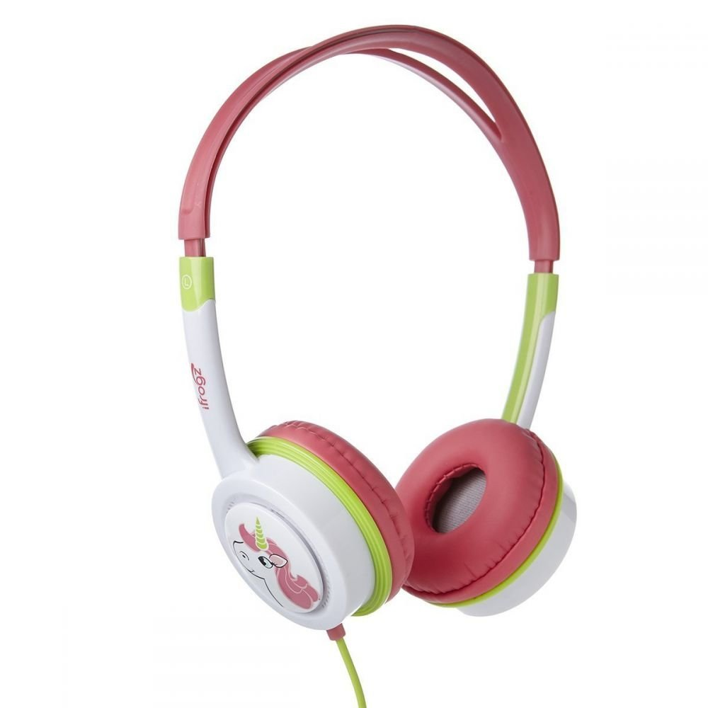 iFrogz On-Ear Headphones Little Rockers Costume, Interchangeable Earcaps (Non-Retail Packaging)