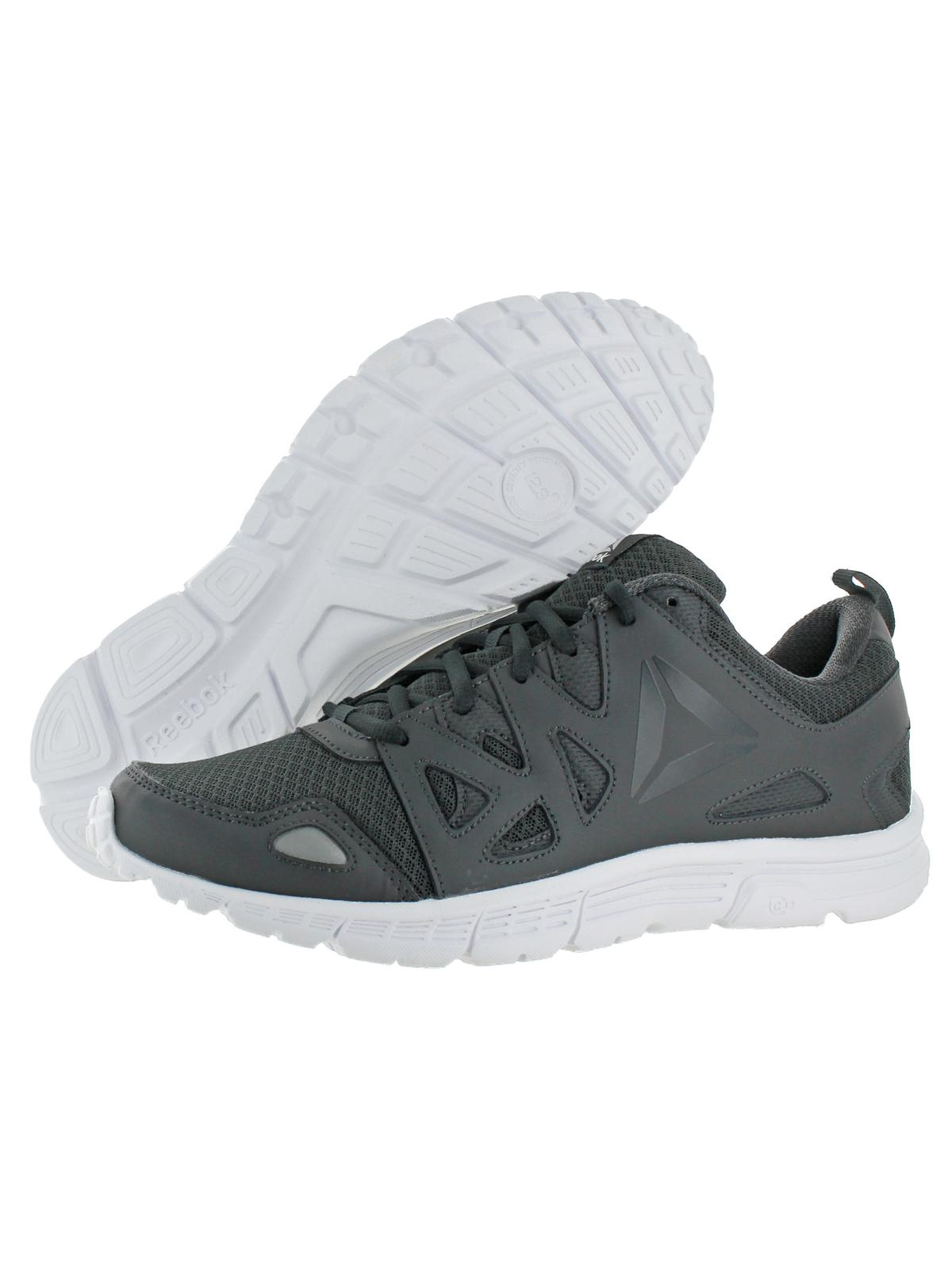 Reebok Men's Run Supreme 3.0 Mt Coal / Ash Grey Silver White Ankle-High Running Shoe - 9.5M