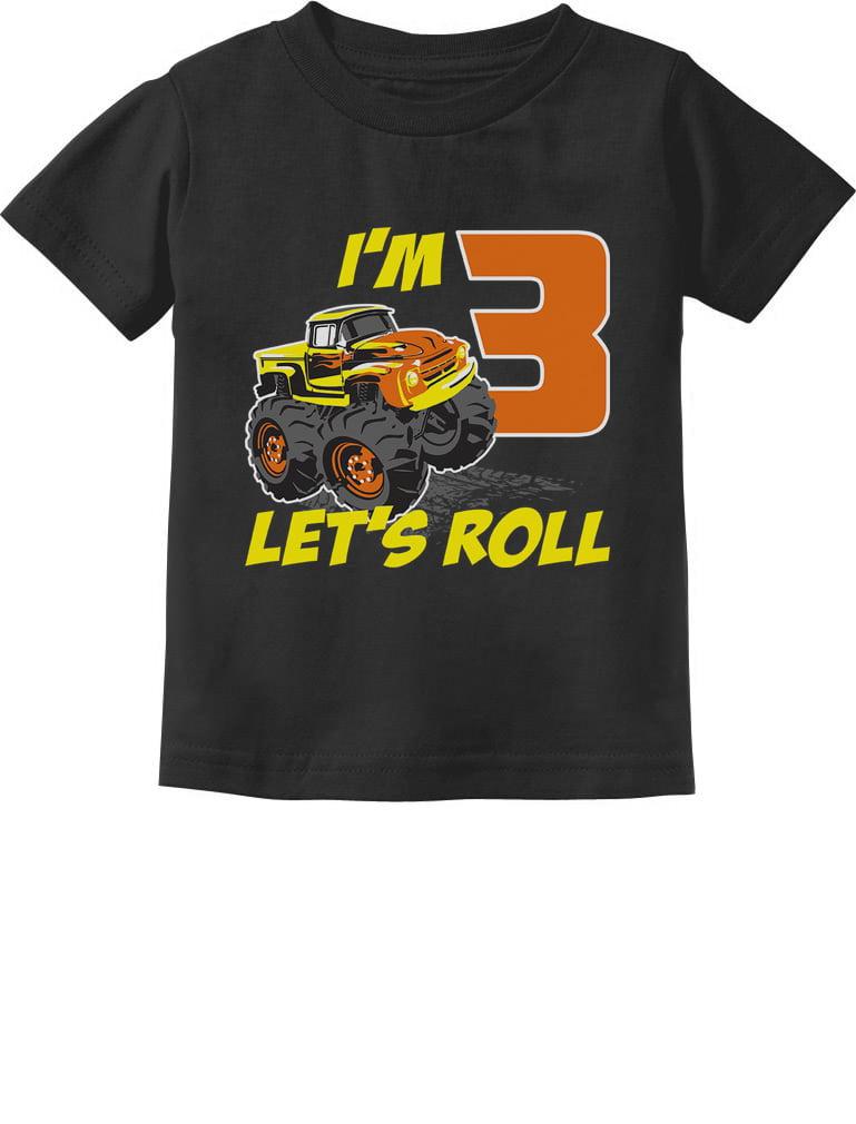 Tstars 3rd Birthday Gift for Boys 3 Year Old Boy Truck Birthday Toddler//Kids Sweatshirt