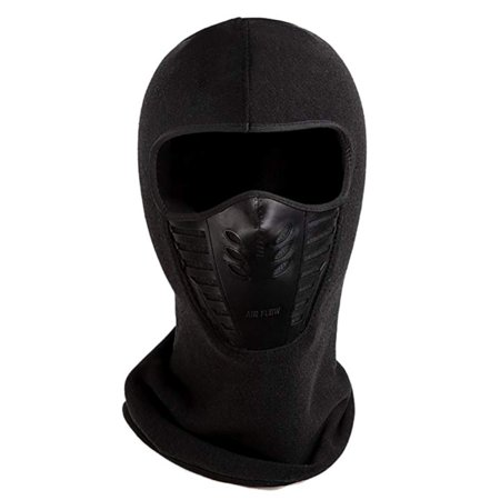 Lavaport Windproof Ski Full Face Mask Balaclava Hood Warm for Cold (Diamond Tactical Full Face Protection Ghost Balaclava Mask)