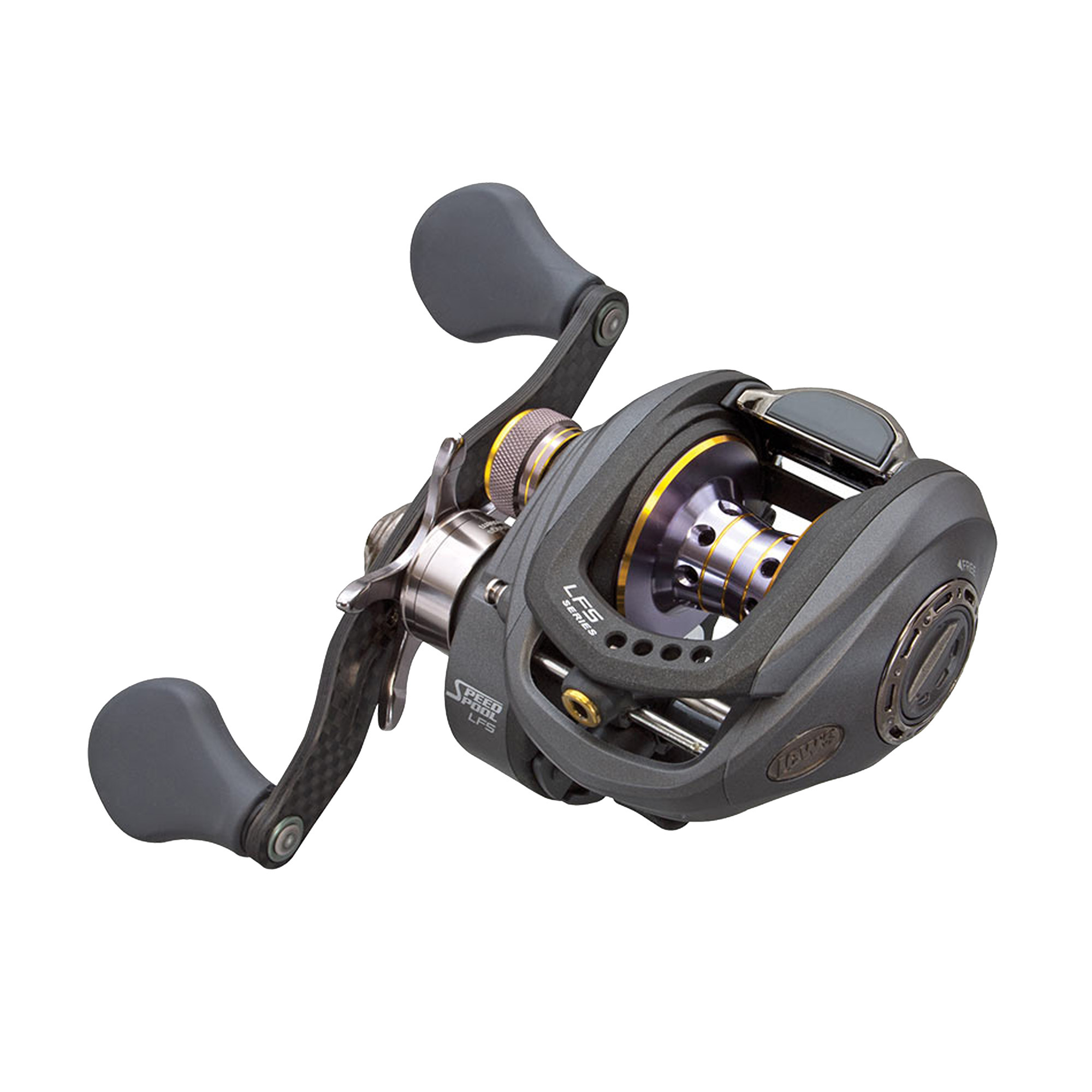 "Lews Fishing Tournament Pro G Speed Spool Reel 35"" IPT, 8.3:1 Gear Ratio, 10+1 Bearings, Right Hand by Lews Fishing"