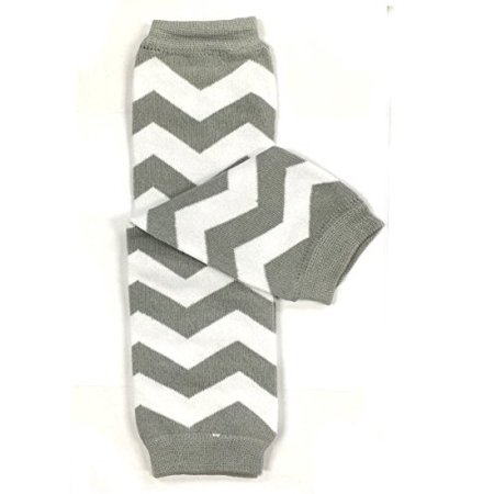ALLYDREW Stripes, Polka Dots & Chevron Baby Leg Warmer & Toddler Leg Warmer for Boys & Girls, Gray & White Chevron - Red And White Striped Leg Warmers