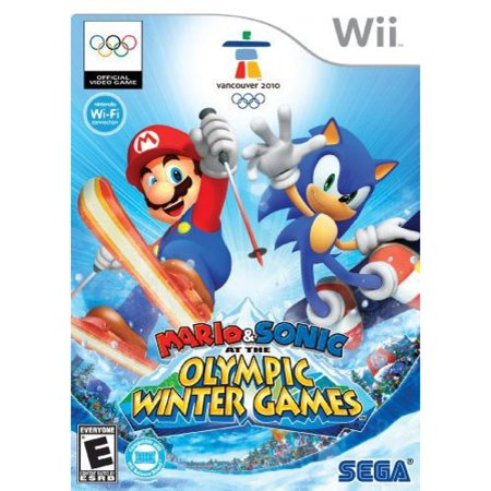 Mario & Sonic at the Olympic Winter Games, SEGA, Nintendo Wii, 010086650303