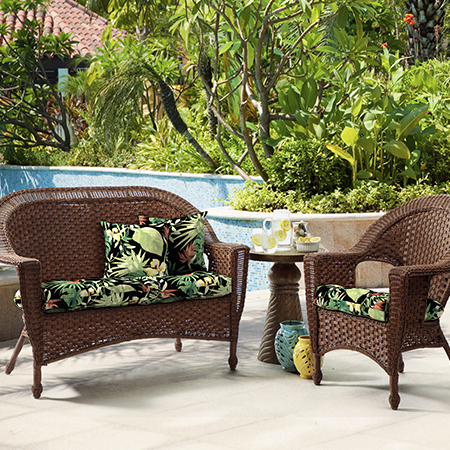 Better Homes and Gardens Aruba Palm Outdoor Cushion Collection