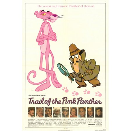 Trail of the Pink Panther POSTER Movie Mini - Pink Movie Com