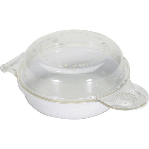 Nordic Ware 60510 Microwave Egg N Muffin Breakfast Pan