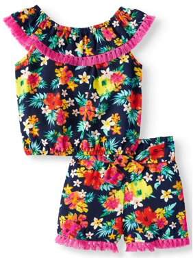 68dd35a237437e Product Image All-over Print Matching Top   Shorts