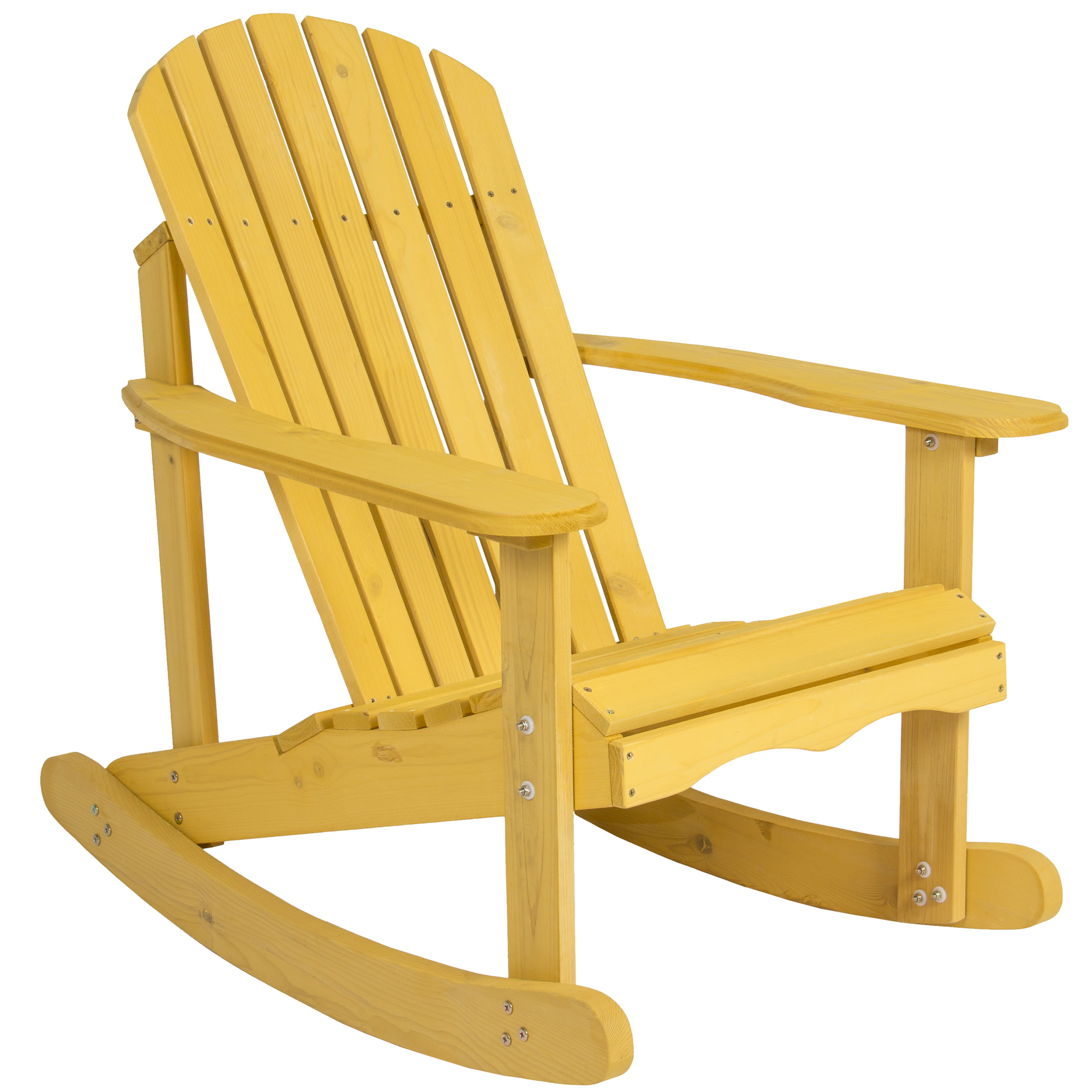 Garden Furniture Chairs outdoor adirondack rocking chair natural fir wood deck garden