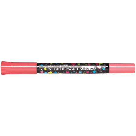 Kirarina 2win Oil-Based Marker-Framboise (Dark Pink)