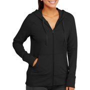 Women's Active French Terry Hooded Jacket