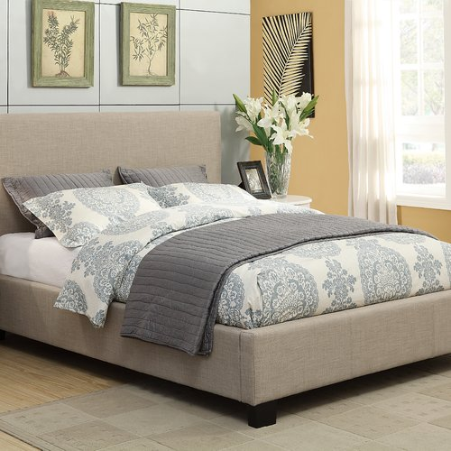 Modus Furniture Simone Upholstered Panel Bed by