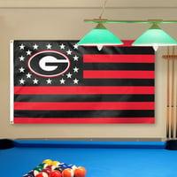 Georgia Bulldogs WinCraft Deluxe Stars & Stripes 3' x 5' Flag - No Size