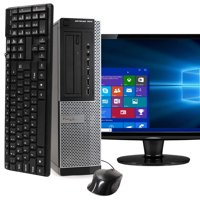 "Dell OptiPlex 7010 Desktop Computer PC, 3.40 GHz Intel i7 Quad Core Gen 3, 8GB DDR3 RAM, 2TB SATA Hard Drive, Windows 10 Professional 64 bit, 22"" Widescreen Screen Refurbished"