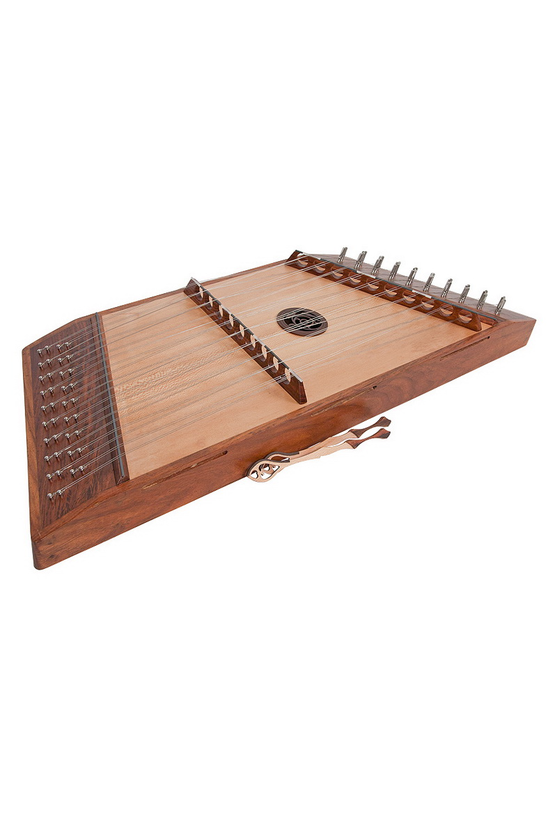 Roosebeck Double Strung 10 9 Hammered Dulcimer with Hammers by Roosebeck