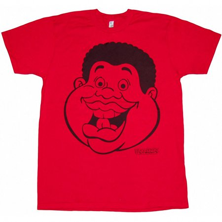 Fat Albert Fat Head T-Shirt](Fat Albert Halloween Cartoon)