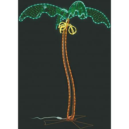 Mings Mark 8080122 Green Long Life 120V 7 Led Coconut Palm Tree Rv Rope Light