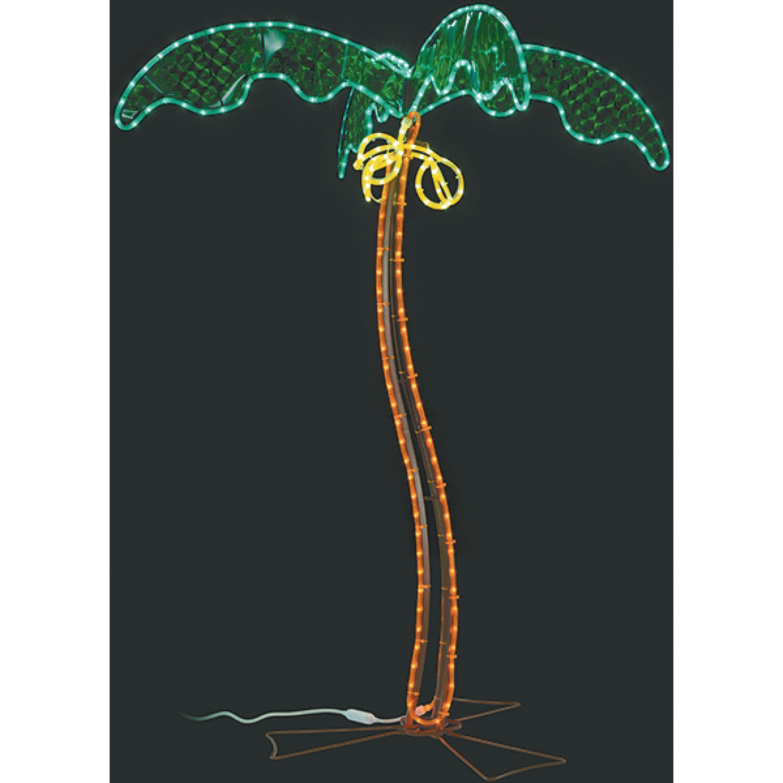 Ming's Mark 8080122 Green Long Life 120V 7' LED Coconut Palm Tree RV Rope Light