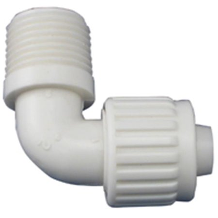 Flair-It 16803 MPT Male Elbow, .5 x .5 In. - image 1 de 1