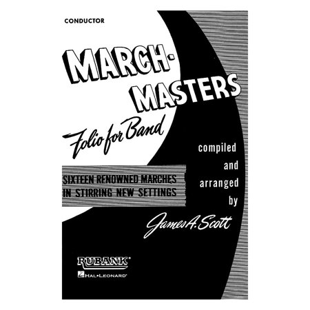 March Conductor (Rubank Publications March Masters Folio for Band (Conductor) Concert Band Composed by Various)
